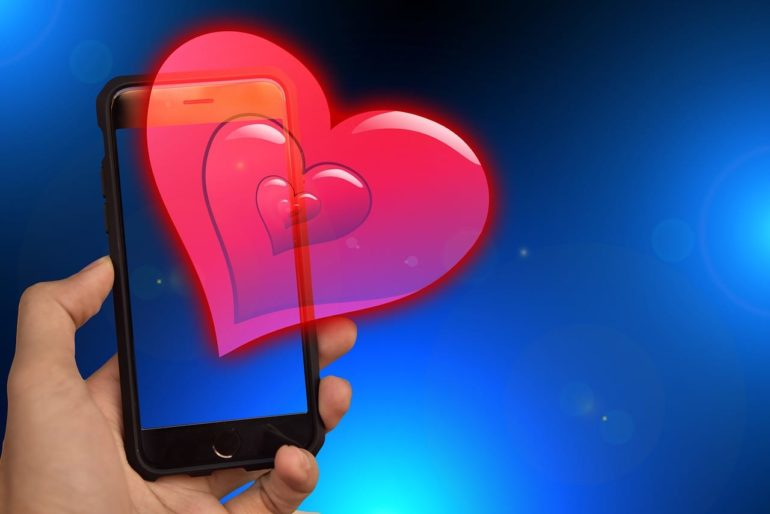 smartphone apps for a lovely Valentines Day
