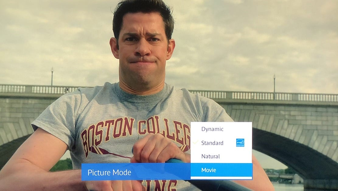 Movie Picture Mode TV settings