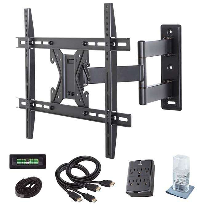 Commercial Electric (XD2470) Full Motion TV Wall Mount Kit
