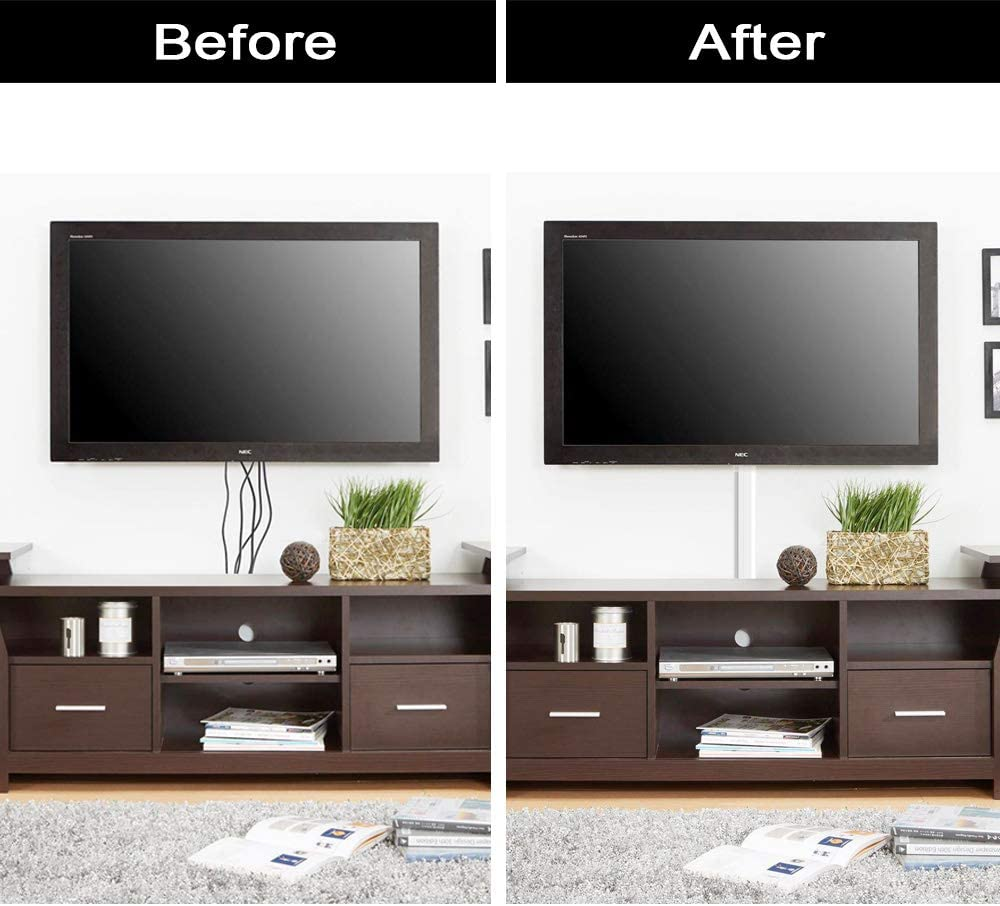 how to hide tv wires with raceway without cutting into your walls