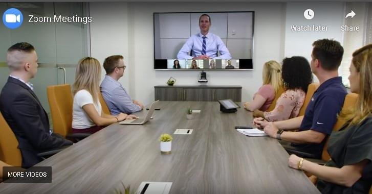 Zoom Video Meetings