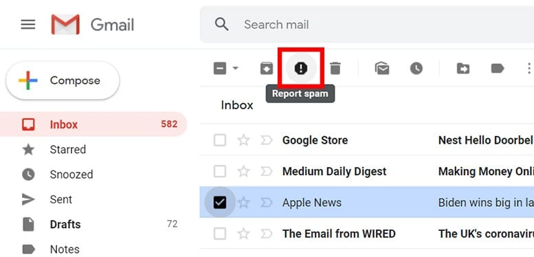 How to Filter Spam in Gmail