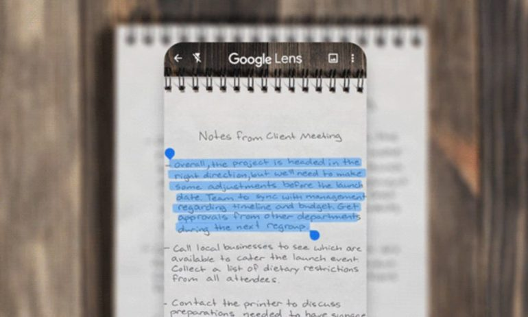 How to Scan Handwritten Notes Using Google Lens