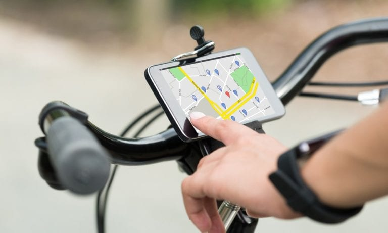 Google and apple maps bike directions