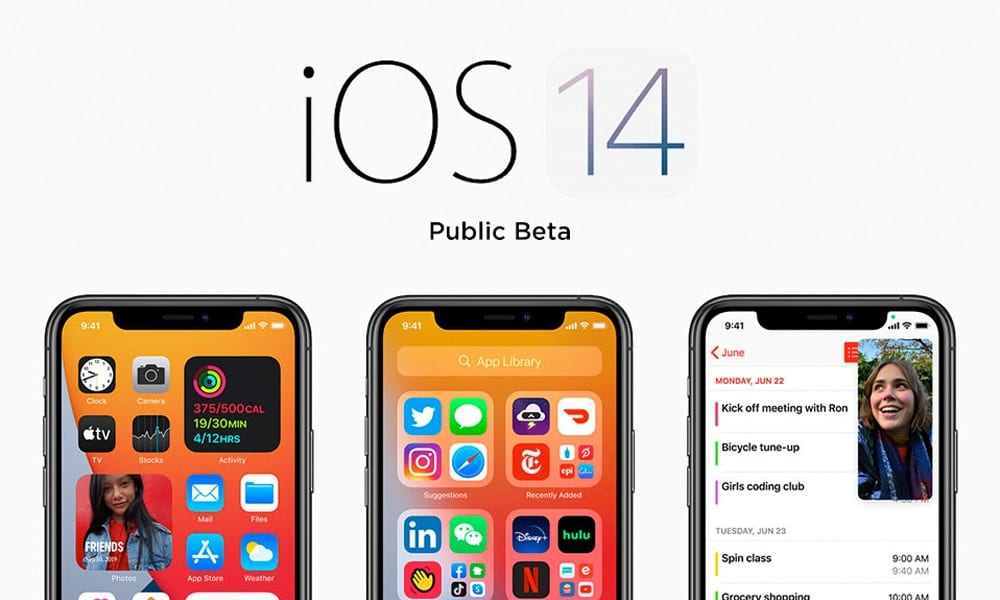 ios 14 public beta featured image
