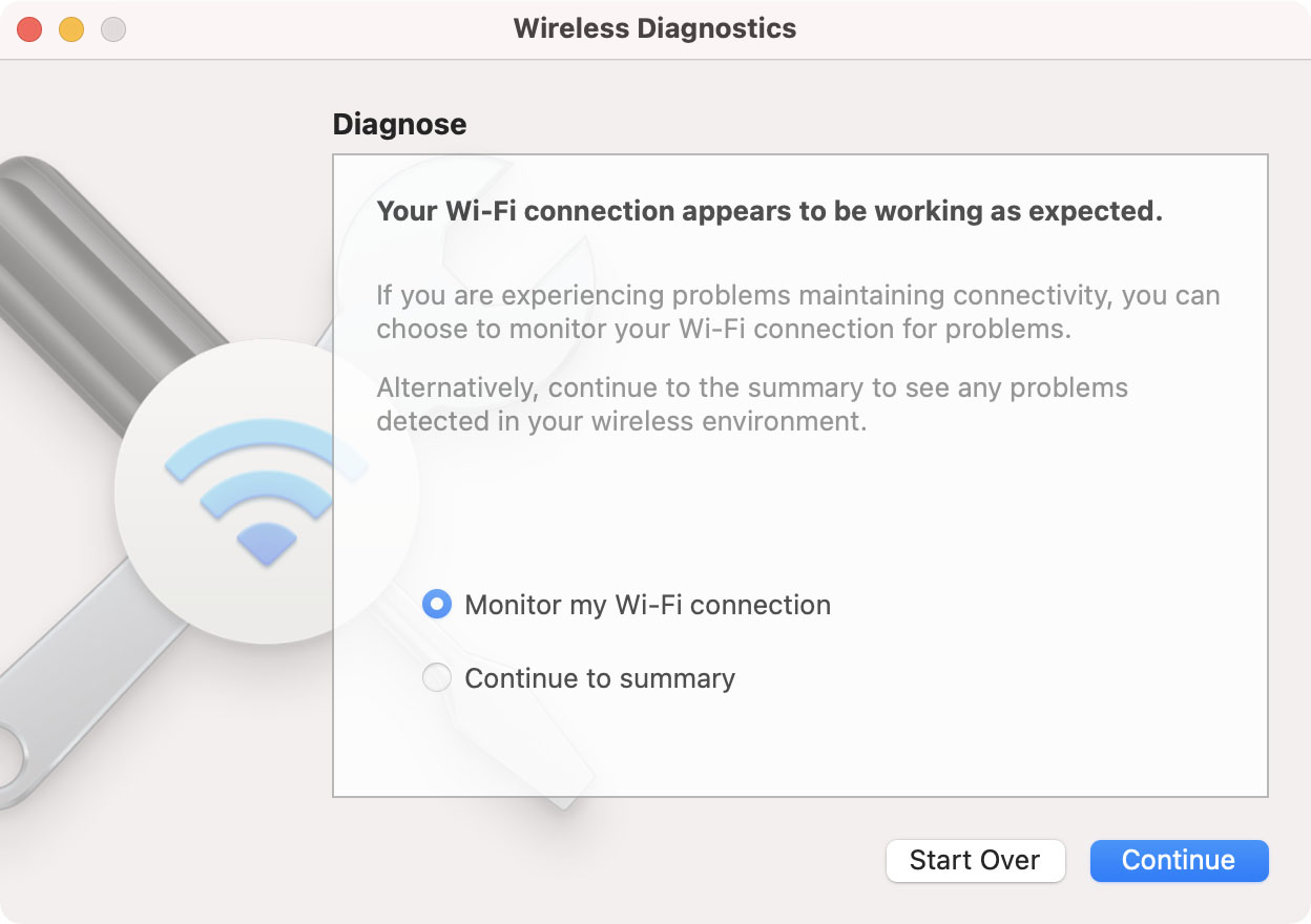 mac wireless diagnostics 2