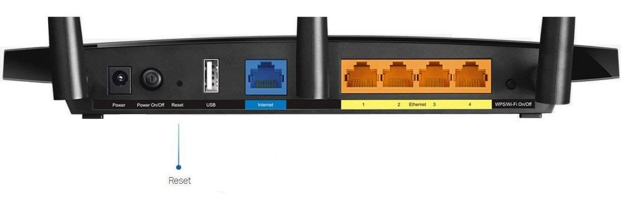 reset router