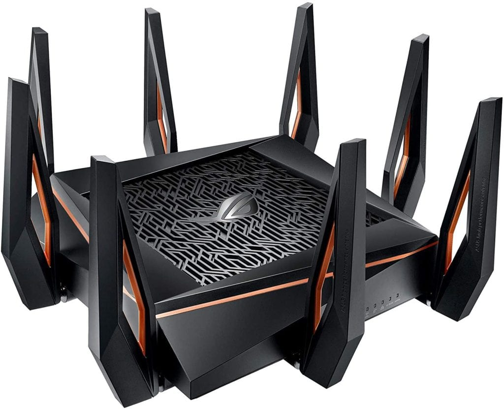 Asus ROG Rapture GT-AX11000_Best WiFi 6 Router for Gaming