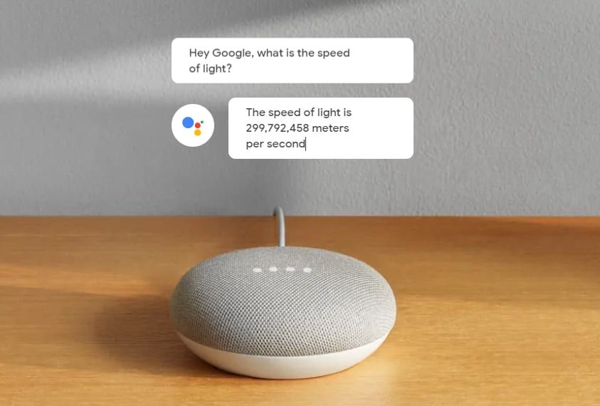 google nest mini - best smart assistant for answering questions