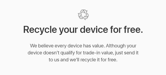 apple trade in recycle 1