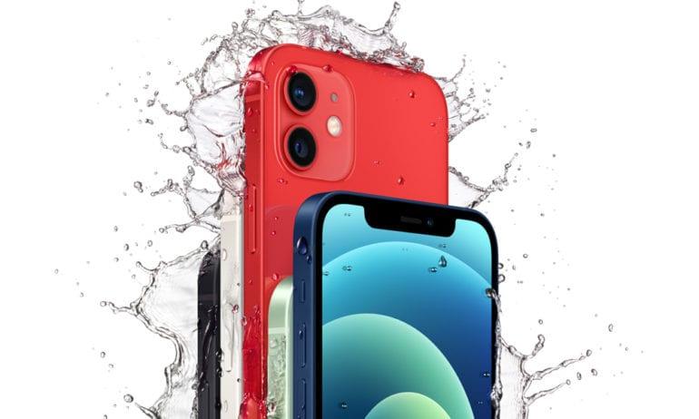 is the iphone 12 waterproof