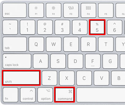 How to Screen Record with Keyboard Shortcuts