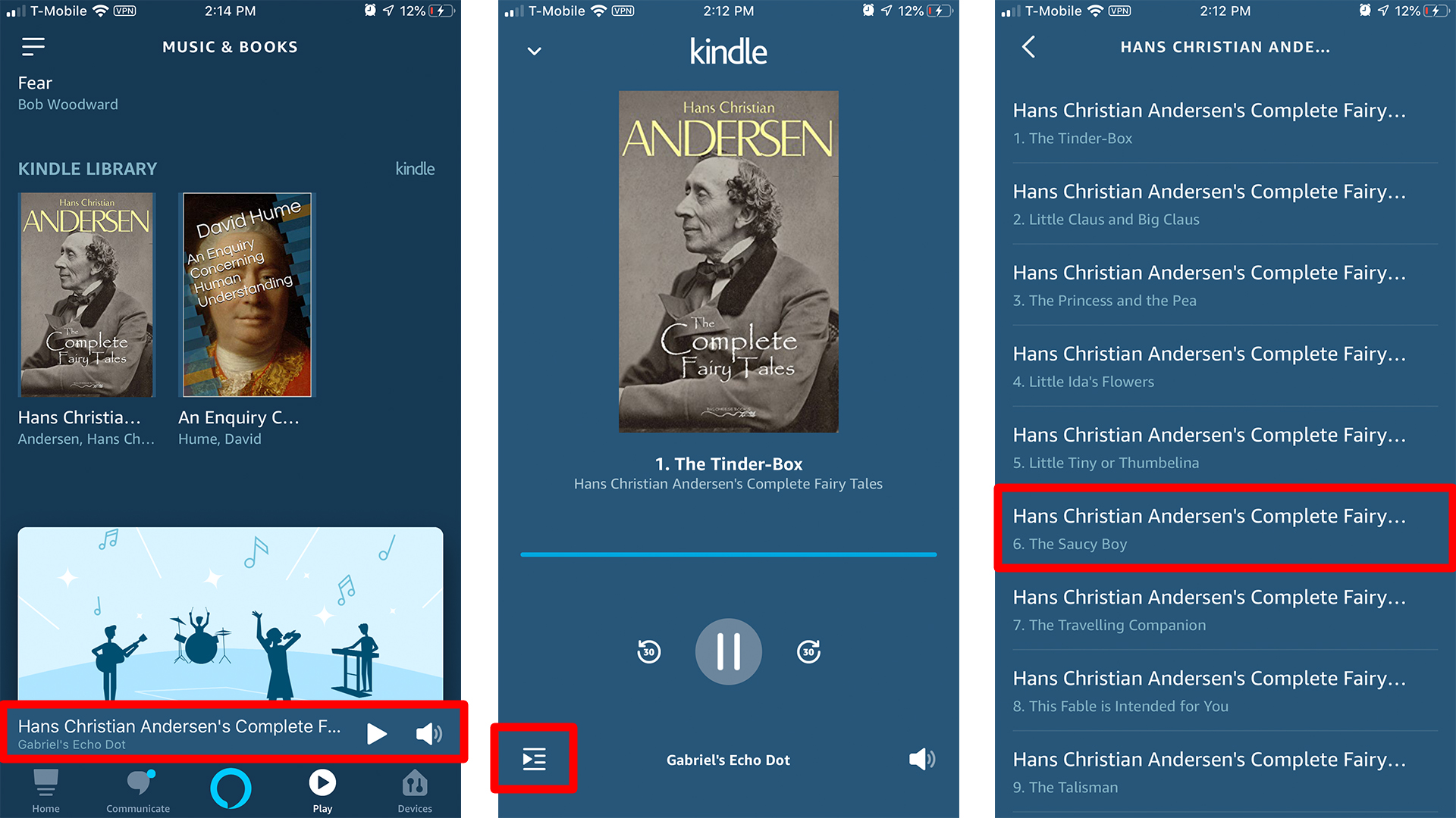 How to Have Alexa Read a Kindle Book