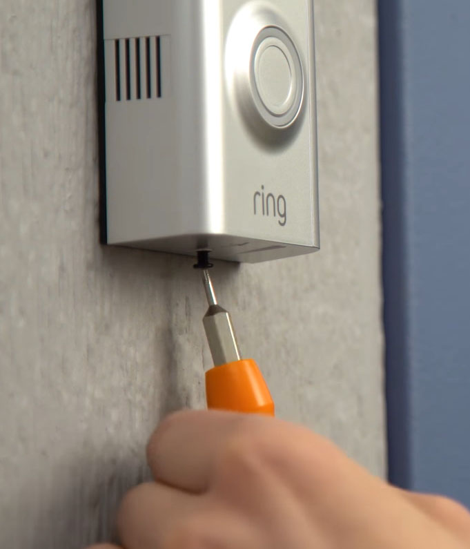 How to Install a Ring Doorbell without an Existing Doorbell