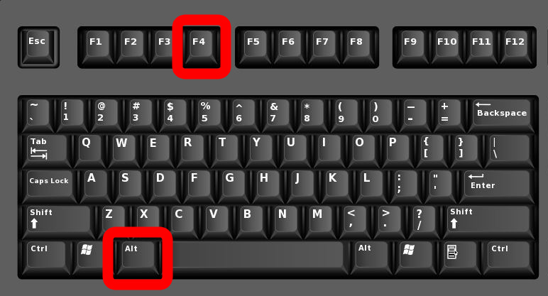 How to Force  Quit  on a Windows 10 PC Using Keyboard Shortcuts
