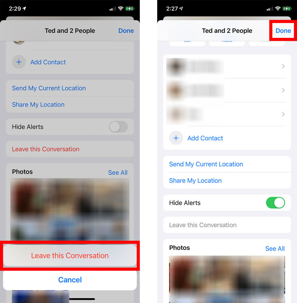 How to Block a Group Text on an iPhone