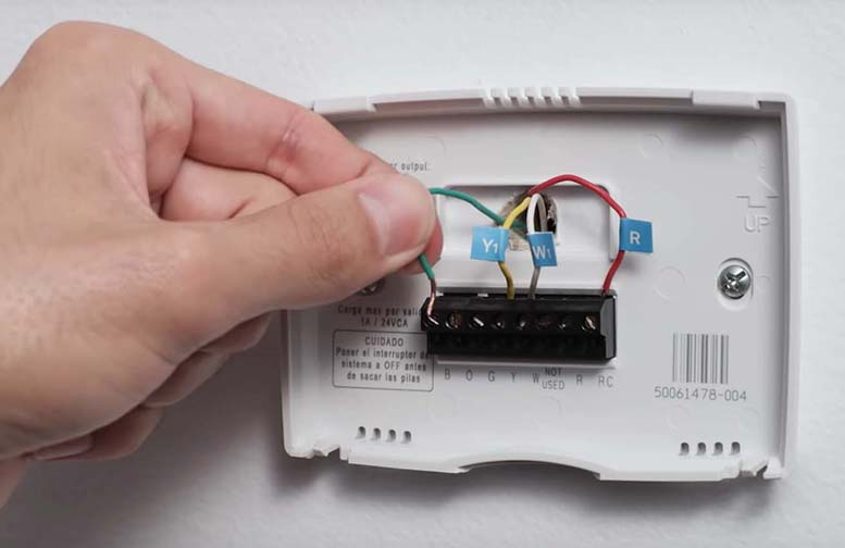 how to install a nest smart thermostat
