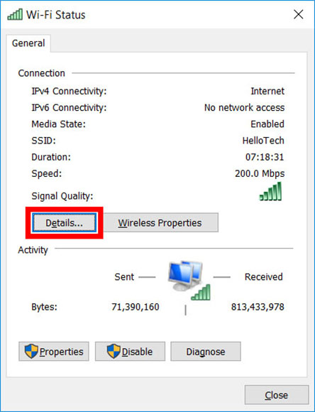 How to Find IP Address on a Windows 10 Computer