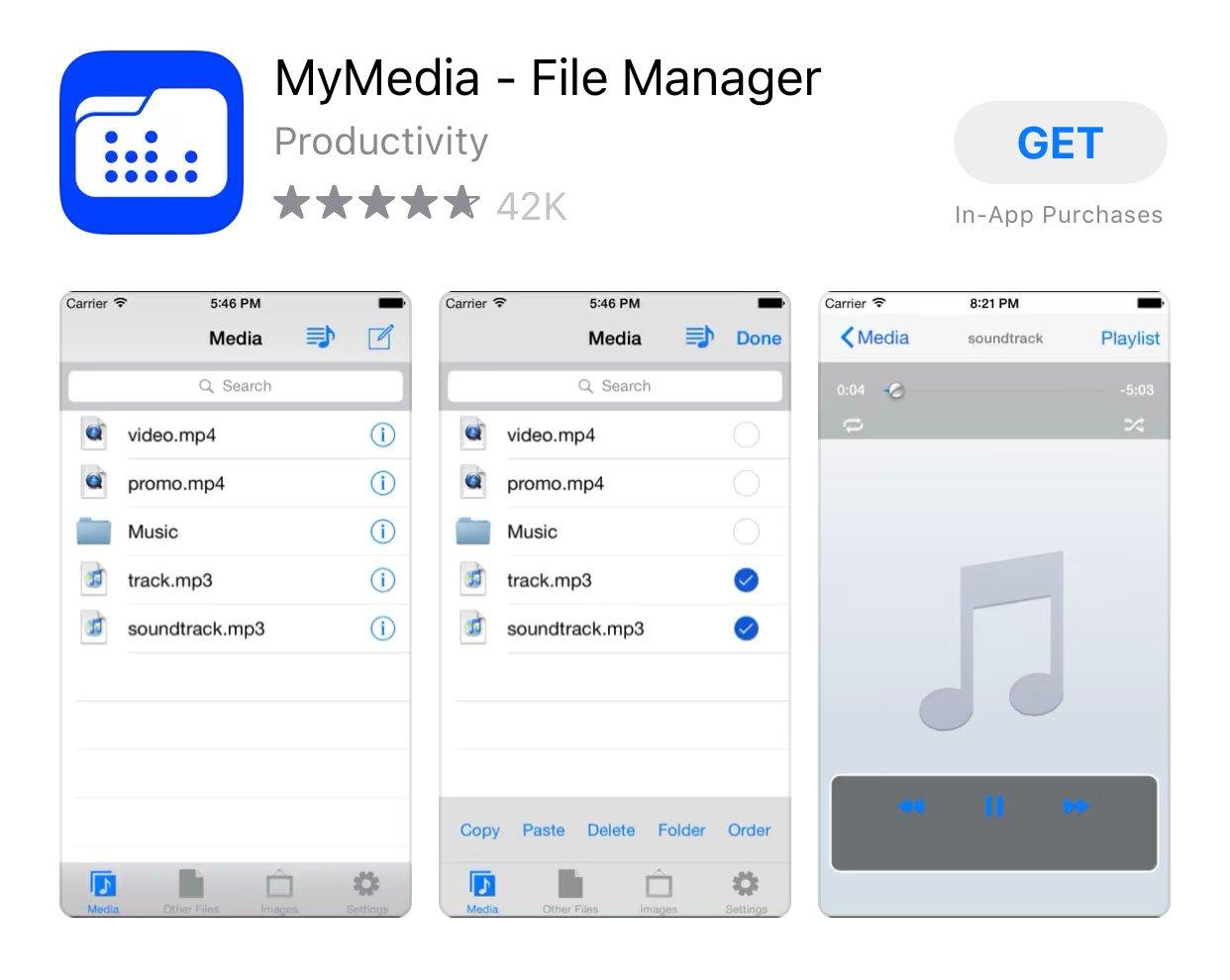 mymedia app