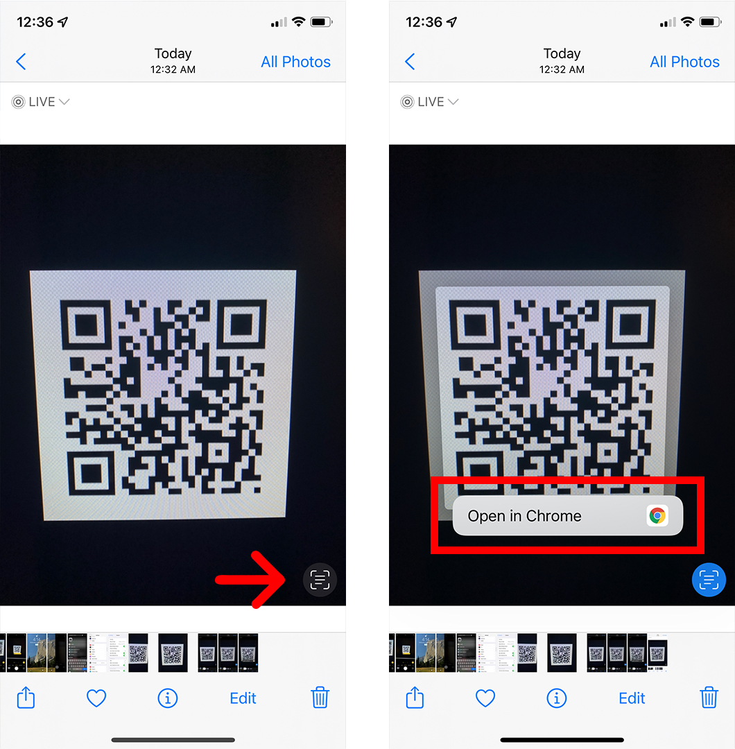 How to Scan a QR Code on an iPhone