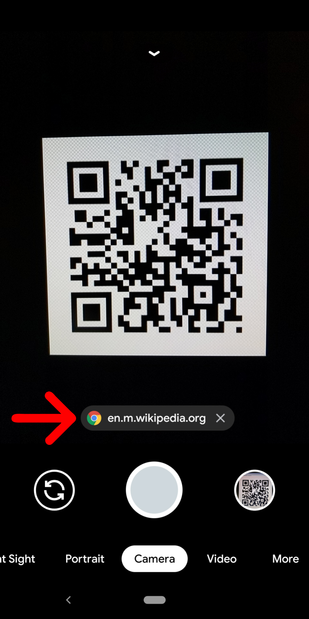 how to scan qr code on android phone