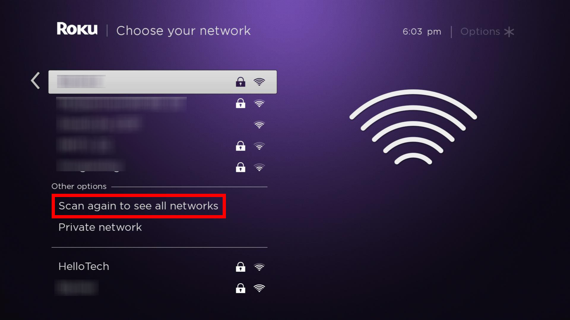 how to connect roku to mobile hotspot