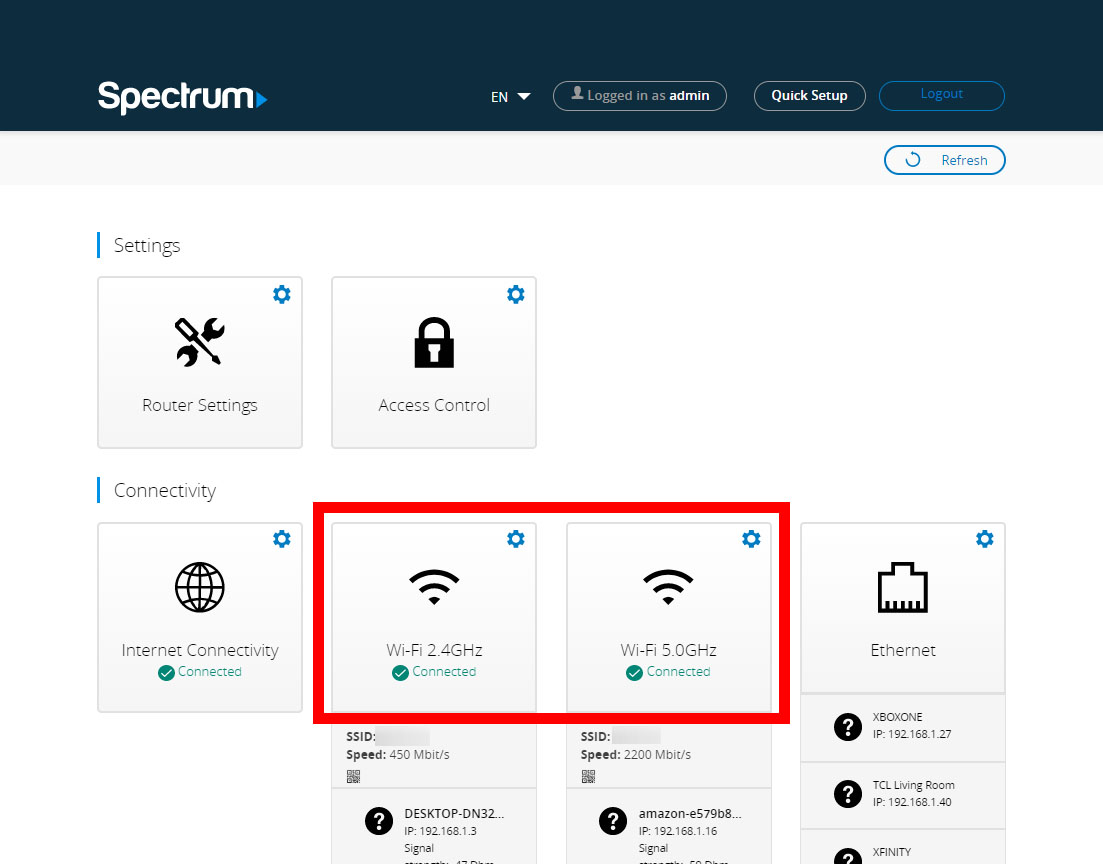 How To Change Your Spectrum WiFi Network Name and Password on a Spectrum Router