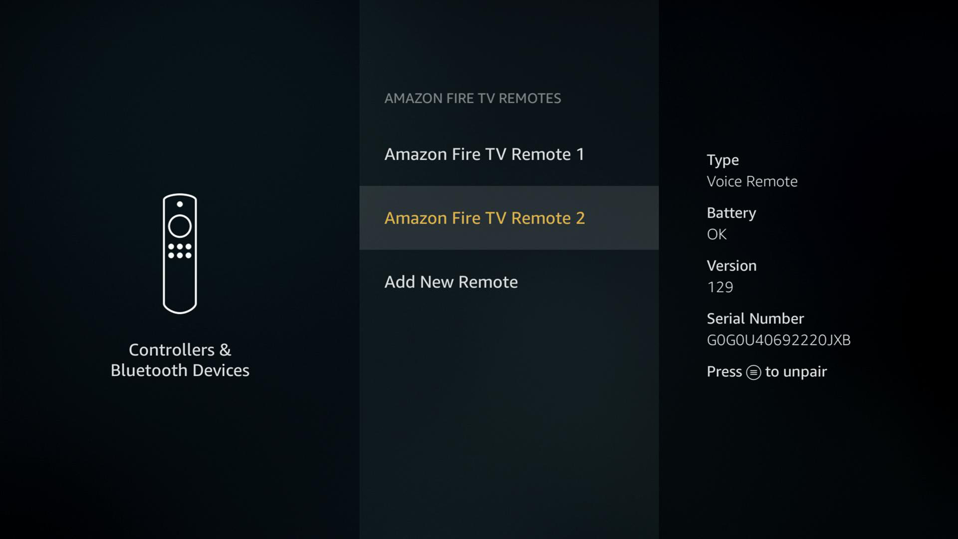 How to Pair a Replacement or Additional Remote to Fire TV