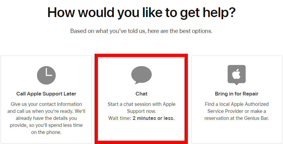 How to Chat with Apple's Customer Support