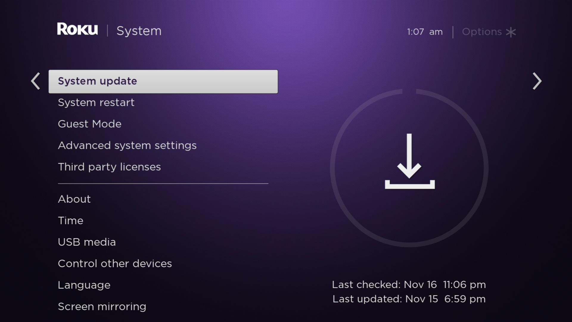 How to Update Roku Manually