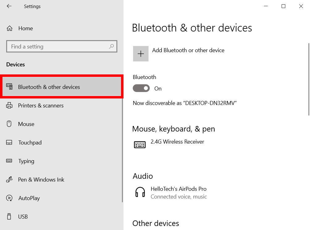 How to Reset a Bluetooth Device in Windows 10