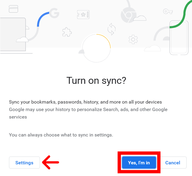 How to Turn On Sync in Google Chrome on a Computer