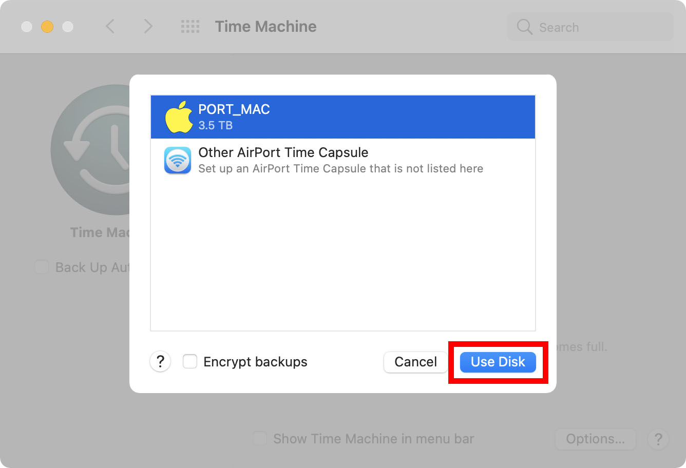 How to Back Up a Mac with Time Machine