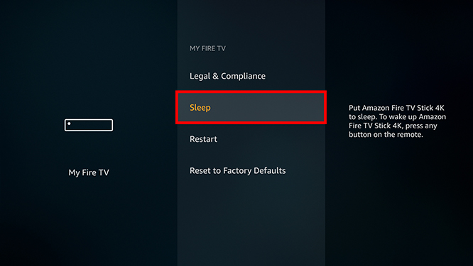 How to Turn Off Your Fire TV Stick from the Home Screen