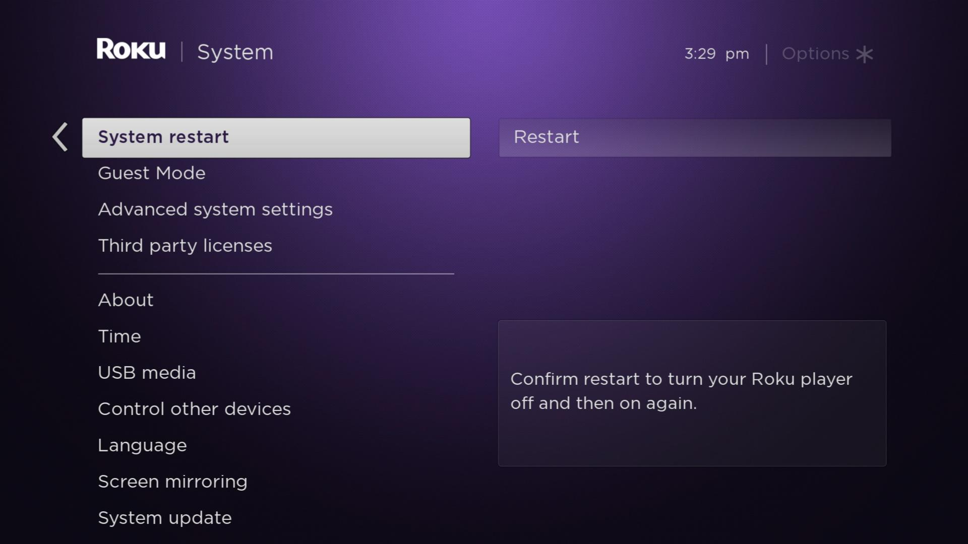 How to Restart Roku Without Unplugging It