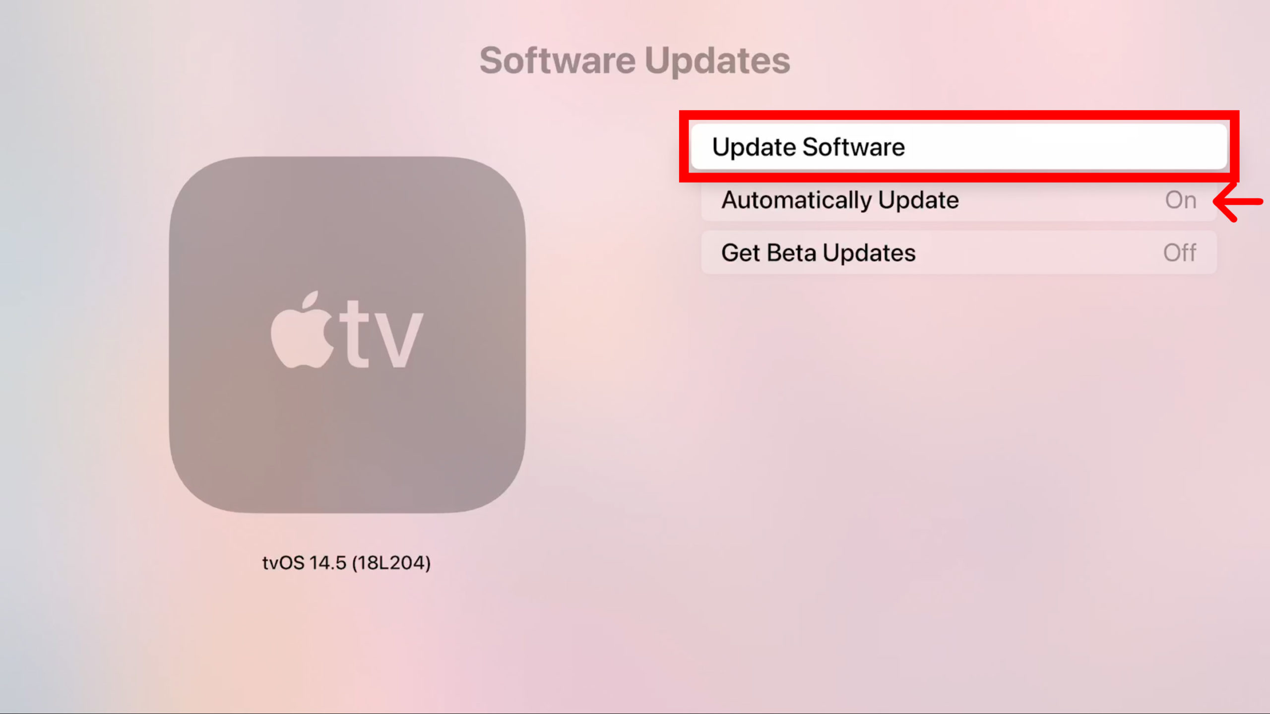 How to Manually Update Your Apple TV