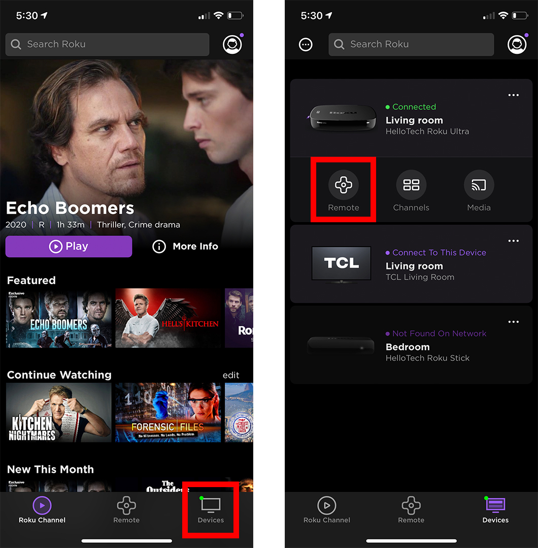 How to Connect Bluetooth Headphones to Roku Using the App