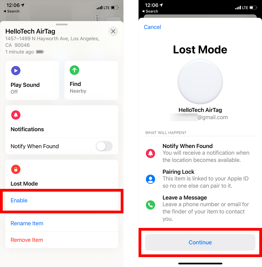 How to Turn On Lost Mode for Your AirTag