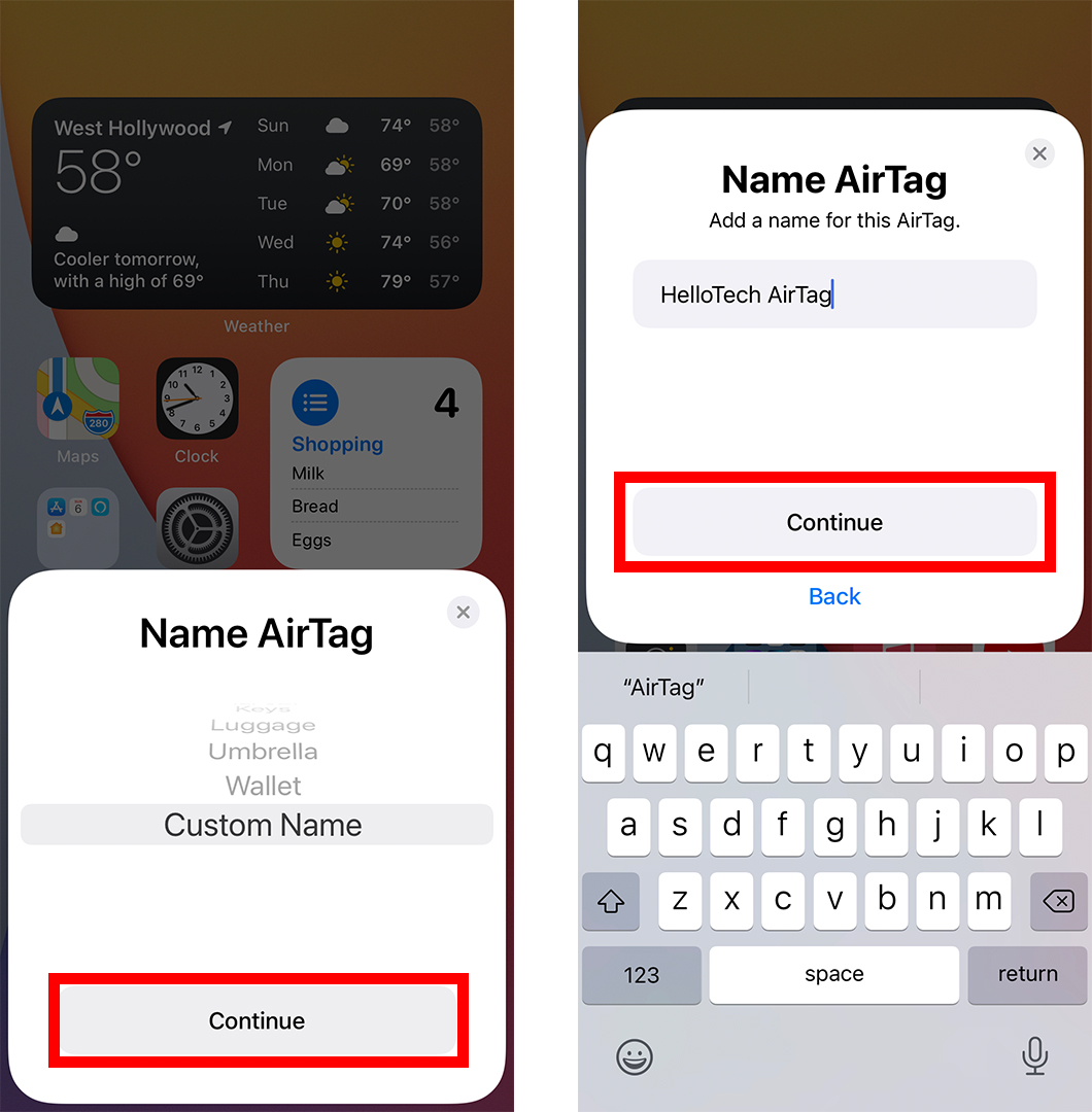 How to Set Up an AirTag