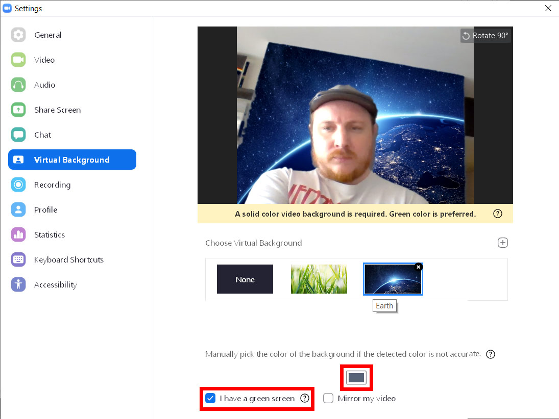 How to Add a Virtual Background Before Your Meeting on Zoom